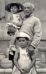 Picasso, Paloma and Claude