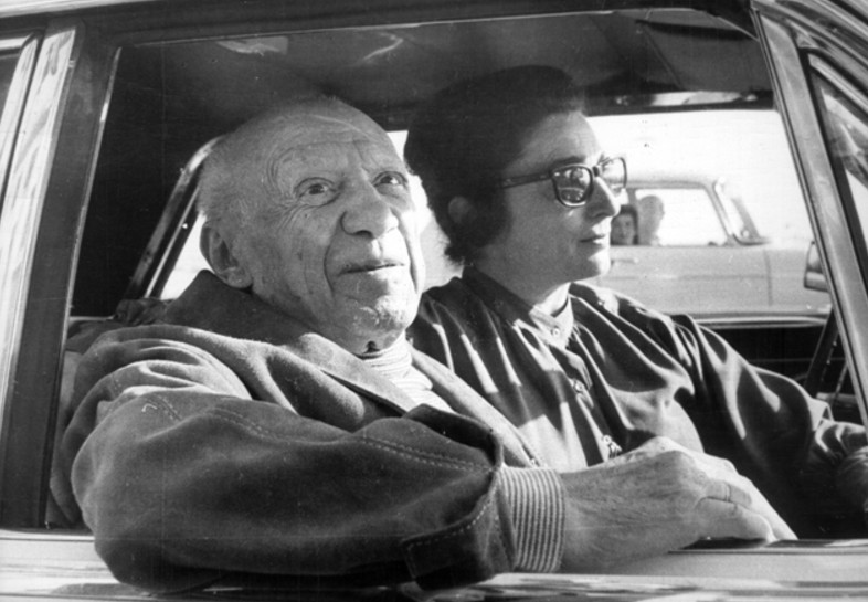 Picasso and Jacqueline, Cannes