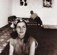 Françoise Gilot and Picasso, 1952