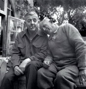 with Jacques Prevert, 1951