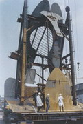 Under construction in 1965 at the U.S. Steel's American Bridge Company 1965 year