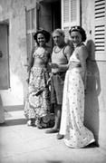 Ady Fidelin, Picasso and Nusch Eluard, 1937