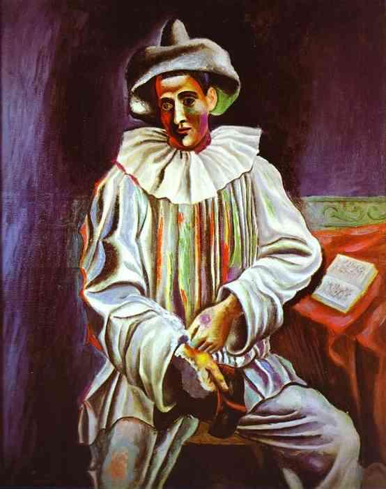 Pablo Picasso - Arlequin, 1918