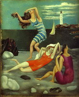 Pablo Picasso. The Bathers, 1918