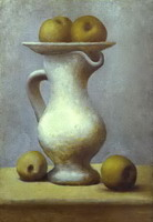 Pablo Picasso. Still-Life with a Pitcher and Apples, 1919