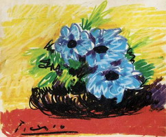 Pablo Picasso. Theme:  Flowers.