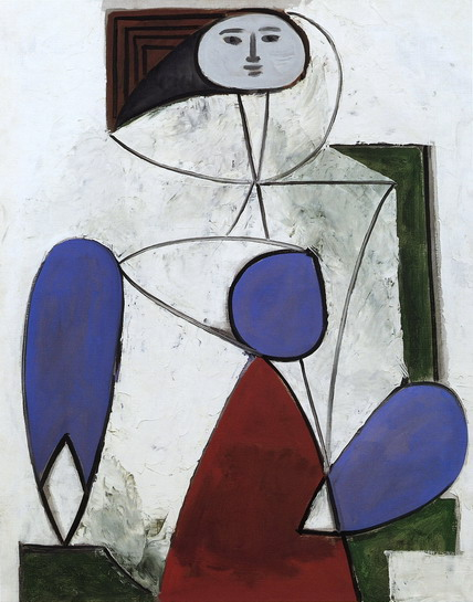 Pablo Picasso — Woman in an armchair, 1932