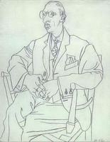 Portrait of Igor Stravinsky