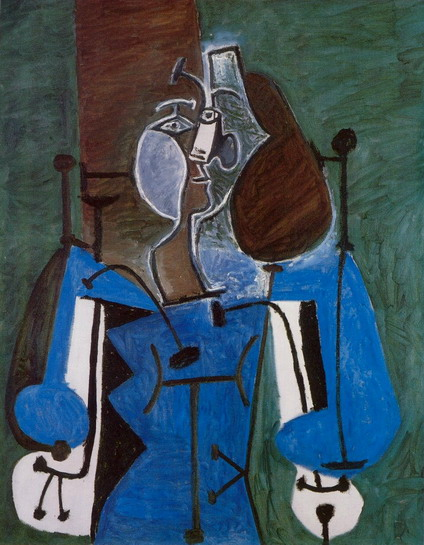 Pablo Picasso. Seated Woman, 1939