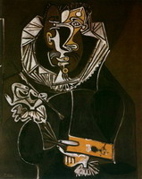 Portrait of a different artist (El Greco), 1950