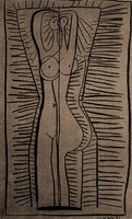 Pablo Picasso. Standing Nude (Françoise), 1946