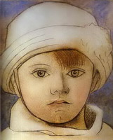 Portrait of Paul Picasso as a Child