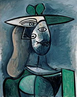 Pablo Picasso. Woman with hat
