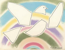 Flying Dove (in the Arc-en-ciel)