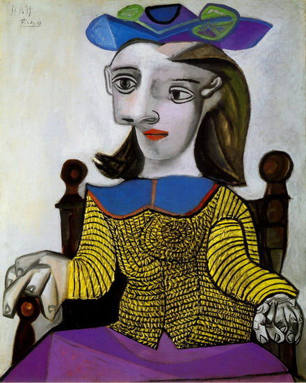 Pablo Picasso. The yellow jersey (Dora), 1939