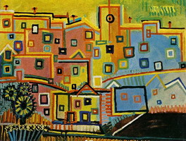 Pablo Picasso. houses
