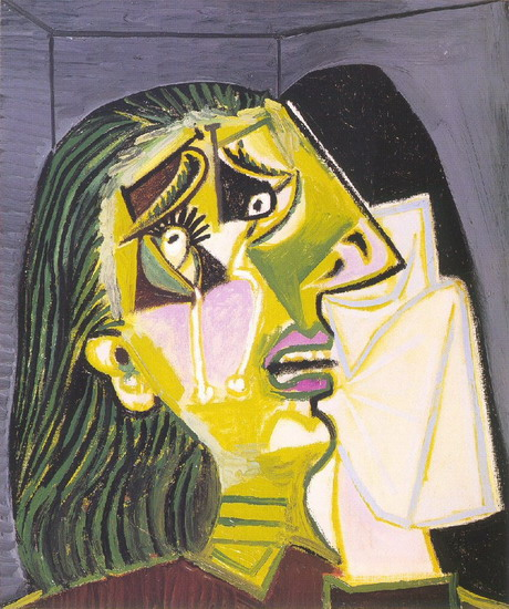 cubism the weeping woman