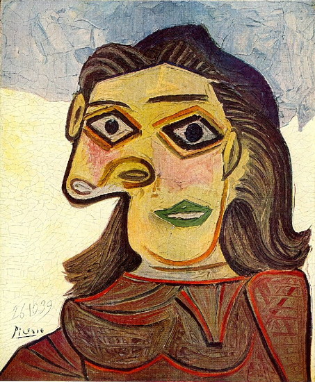 Pablo Picasso. Head of a Woman, 1939