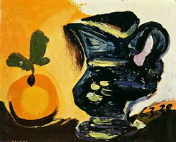 Pablo Picasso. Still life with pitcher, 1938
