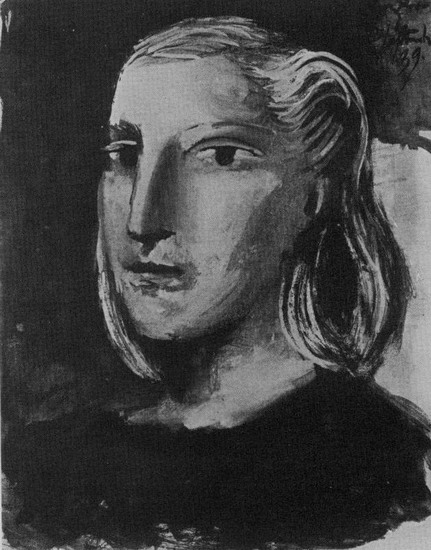 Pablo Picasso - Portrait of Marie-Therese Walter, 1939
