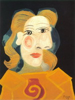 Head of a Woman (Dora Maar)