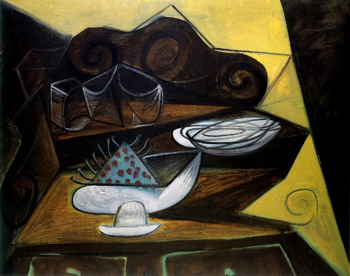 Pablo picasso the buffet catalan 1943 for Sideboard pablo