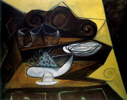 Pablo Picasso. The buffet `Catalan`, 1943