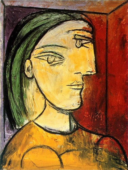 Pablo Picasso - Portrait of Marie-Therese, 1938