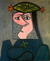 Pablo Picasso. Female bust R, 1943