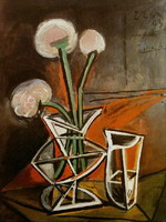 Pablo Picasso. Vase of Flowers, 1943