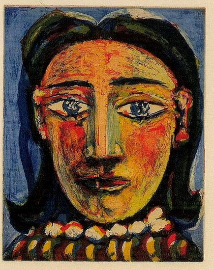 Pablo Picasso. Head of a Woman I (C) (Portrait of Dora Maar), 1939