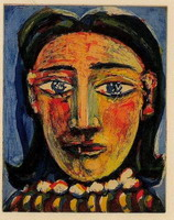 Head of a Woman I (C) (Portrait of Dora Maar)