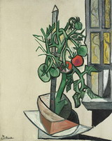 Pablo Picasso. Tomatoes, 1944