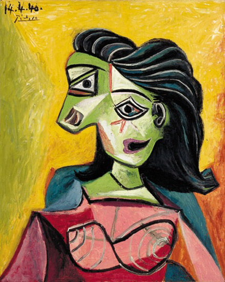 Pablo Picasso Female Bust 1940