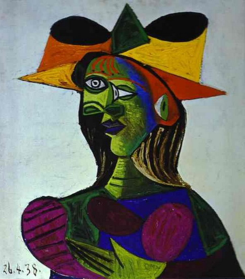 Pablo Picasso - Bust of a Woman (Marie-Therese Walter), 1938