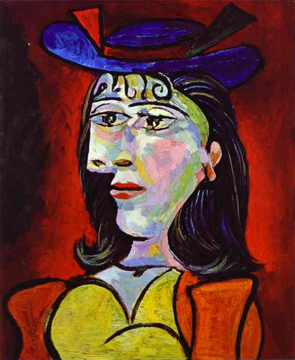 pablo picasso portrait of a young girl 1938. Black Bedroom Furniture Sets. Home Design Ideas