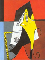 Pablo Picasso. Woman in an armchair, 1927