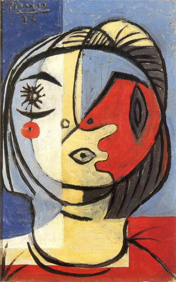 Pablo picasso head 1926 for Picasso painting names