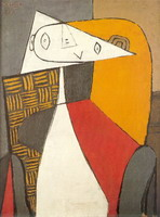 Pablo Picasso. Seated Woman [Figure], 1930