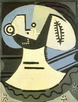 Pablo Picasso. Woman with collar, 1938