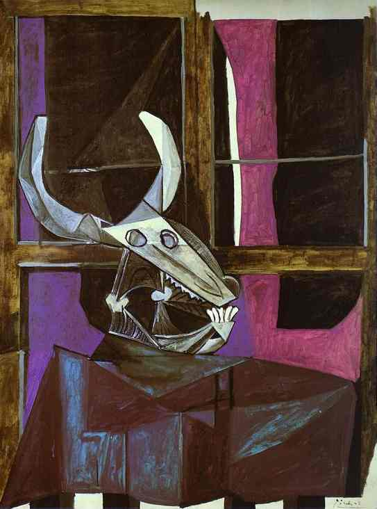 Pablo Picasso. Still Life with Steers Skull, 1942