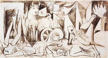 Pablo Picasso. Guernica [study] II