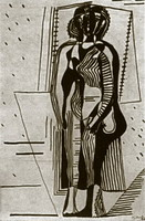 Pablo Picasso. Standing Woman, 1927