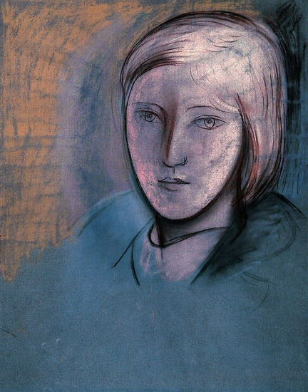 Pablo Picasso - Portrait of Marie-Therese Walter, 1936