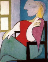 Woman Sitting Near a Window (Femme Assise Pres d'une Fenetre)