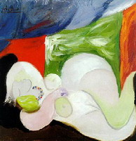 Reclining Nude with the necklace
