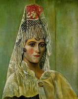 Olga Khokhlova in the Mantilla