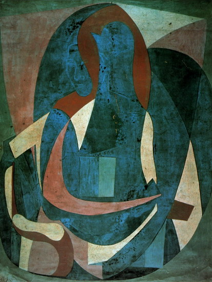 Pablo Picasso — Woman sitting in an armchair, 1923