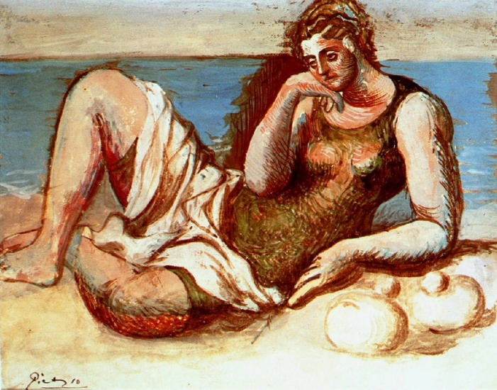 Pablo Picasso. Bather, 1908