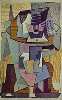 Pablo Picasso. Still Life on a Pedestal (Table), 1919